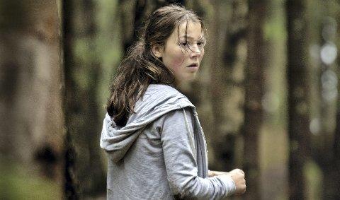 """Presterer: Filmens hovedperson Kaja (Andrea Berntzen) glimrer som skuespiller i """"Utøya 22. juli"""". Kinopremieren i Norge er ikke før 9. mars."""