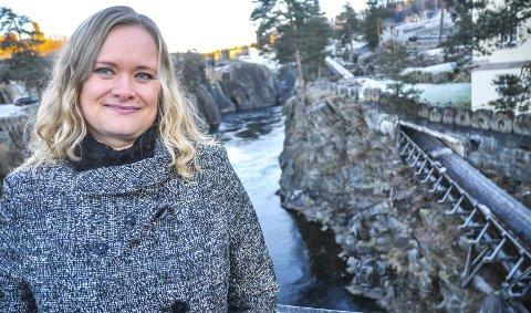 VIL BYTTE JOBB: Vicky Mikalsen ønsker å jobbe med Unescos verdensarv på fulltid - og har søkt den ledige jobben som verdensarvkoordinator på Rjukan. I Notodden er bare 50 prosent av jobben hennes knyttet til verdensarv.