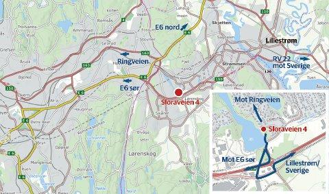 TATT HER: Anne-Elisabeth Hagen (68) skal ha blitt bortført fra sitt eget hjem på Fjellhamar i Lørenskog.