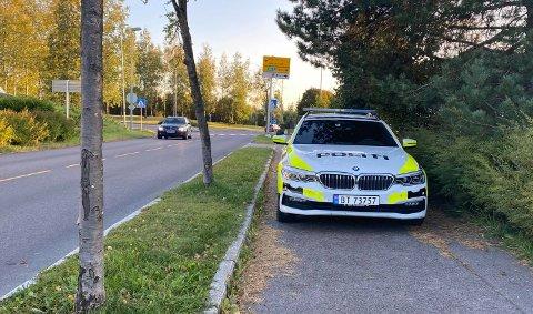LETTERE SKADD: En mann i 60-årene er lettere skadd etter å ha vært involvert i et trafikkuhell på Strømmen onsdag kveld.