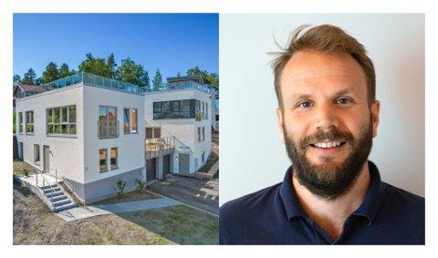 BOLIGUTVIKLING: Daglig leder i Byggstart, Andreas Jebsen legger ikke skjul på at Asker er en annerledeskommune.