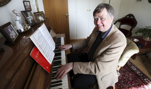 Sandesokning: Morten Gaathaug er en anerkjent komponist, født og oppvokst på Holm i Sande. Alle foto: Lena Malnes