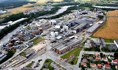 ØKONOMISK STØTTE: Borregaard får 15.7 millioner kronet i støtte fra Norges Forskningsråd.