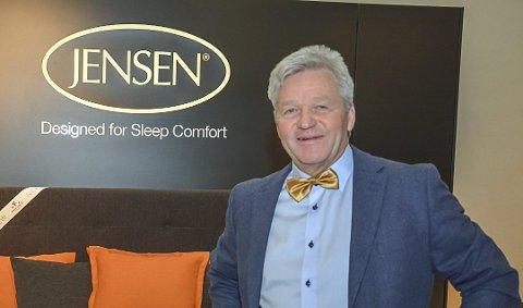 Daglig leder hos Jensen, Jan Trygve Jensen forteller at koronasituasjonen får store konsekvenser for bedriften. Blant annet må de permittere ansatte.