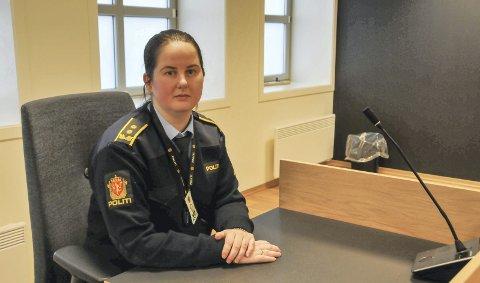 AKTOR: Politiadvokat Margrethe Wigeland Øiestad la ned påstand om 36 dagers ubetinga fengsel, og retten landet på 30 dagers fengsel.
