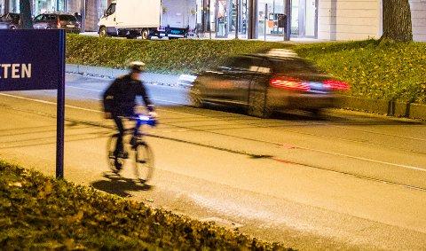 Høstmåneden september er den måneden med flest trafikkulykker der sykler er innblandet.