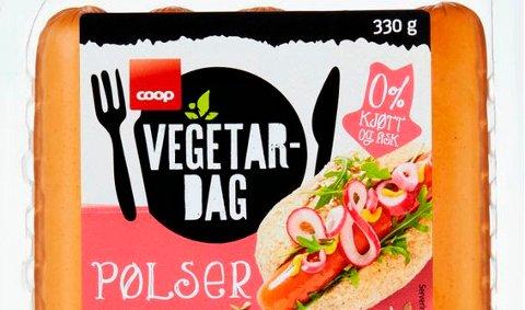 Coop kaller tilbake vegetarpølser av typen Vegetardag.