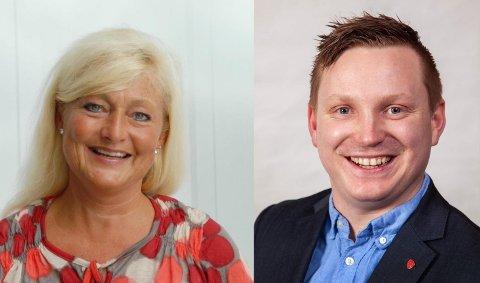 Anne Rygh Pedersen og Tony Christensen