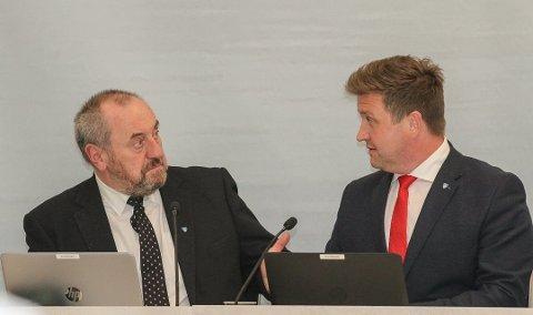 Ordfører Wickholm og varaordfører Adland synes de fortjener store lønnsøkinger