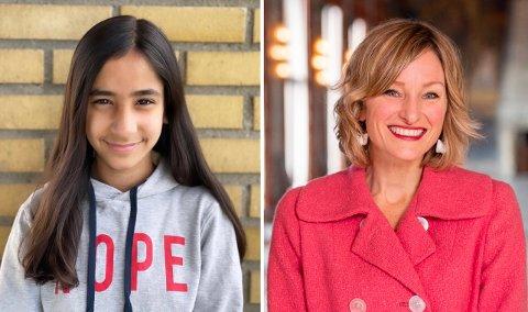 Alisha Aamir sendte brev til Oslo kommune om hva de kunne gjøre for barna som sliter på hjemmeskole. Nå har hun fått svar av skolebyråd Inga Marte Thorkildsen.