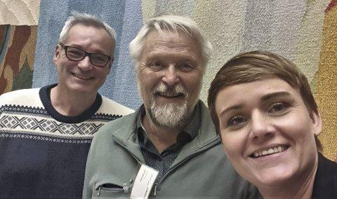 – Særlig var arbeidet til Høyres Margret Hagerup viktig for at fikk ekstra påslag i statsbudsjettet, sier daglig leder Jarle Eknes og organisasjonssjef Jann Aasbak i «Helt med».