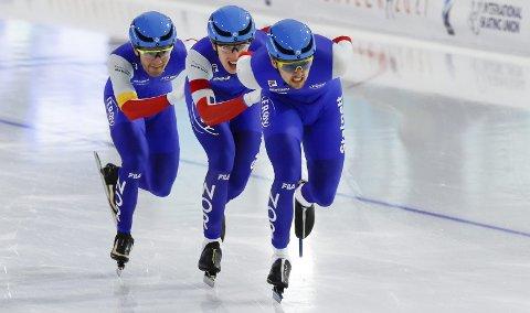 Det norske lagtempolaget var favoritter, men klarte ikke å hamle opp med Nederland, Russland og Canada.