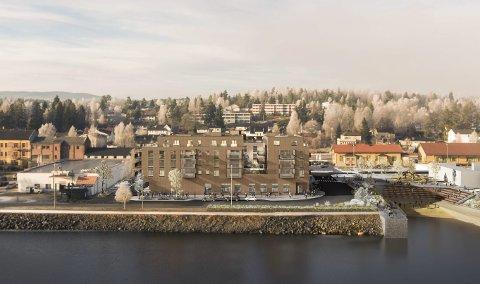 Utbygging i Modum: I dag forteller Geir Holen om utbyggingsplaner i Modum, og tar opp blant annet Fjordbyen og Øståsen som temaer.