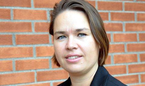 TAKKER FOR SEG: Nicole Kunkel-Torgersen skal fra januar bruke sin ekspertise for Splitkon. Det betyr at byggesaksavdelingen i Modum kommune er på jakt etter en ny sjef.