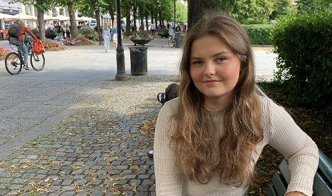 RUSSEPRESIDENT: Linda Hollerud sier hun tror mange har håp for russetida, men at de er forberedt på at landstreffet kan bli ryke.
