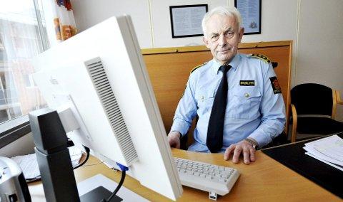 ORGANISERT: PolitiadvokatHans LyderHaare ved Søndre Buskerud politidistriktsier at de mener den siktede mannen har bedrevet organisert kriminalitet over mange år.