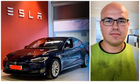 FÅR HJELP: Marius Andrè Langø får endeleg hjelp av «TV2 hjelper deg».