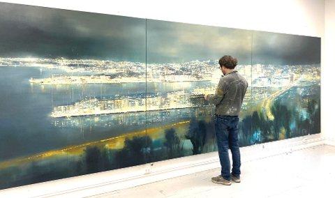 Nå kan du se Frank Brunners bilder på Hvaler.