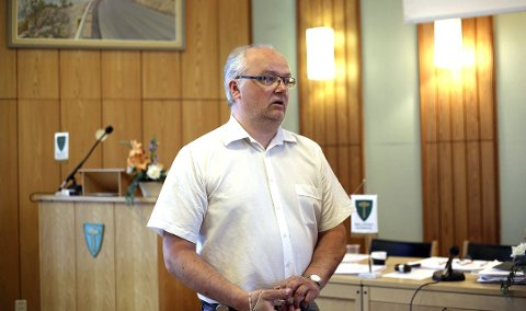 Rådmann Egil Heitmann i Ballangen kommune. Arkivfoto: Fritz Hansen