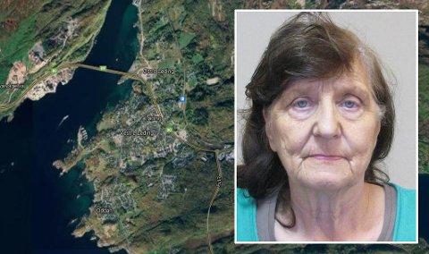 MELDT SAVNET: Kvinnen skal sist ha blitt observert tirsdag formiddag utenfor sin bolig.