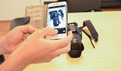 TA BILDE AV ALT DU EIER: Har du fotokamera kan det vært lurt å ta bilde av serienummeret. Det gjør politiets jobb lettere ved eventuelle tyvegods-beslag.
