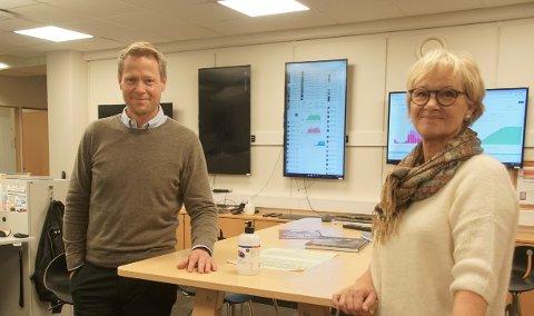 GIR IKKE OPP: Ordførerne i Lunner og Gran, Harald Tyrdal og Randi Eek Thorsen, gir på ingen måte opp helhetlig utbygging av riksveg 4. (arkivfoto)