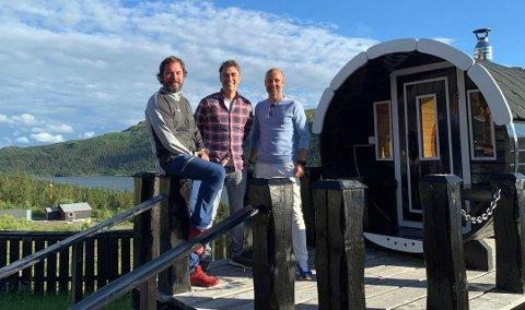 MÅTTE STENGE: I fjor gikk de inn på eiersiden. Torsdag stengte de dørene midlertidig. Fra venstre Sigmund Hagen, Angelo Collura og Jordi Somers.