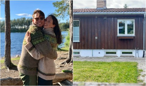 UNGE INNFLYTTERE: De har studert og bodd i Oslo, men da de skulle kjøpe deres første bolig sammen, valgte Jens Kristian og Oda Hadeland.