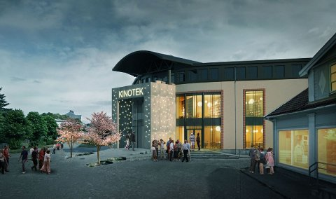 NY KINO: Kino med tre saler er ønsket inn i Halden storsenter i forbindelse med områdeløft nord.