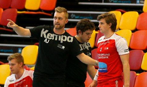 LUKTER NEDRYTT: Trener Andreas Justesen og  Tormod U. Hodne