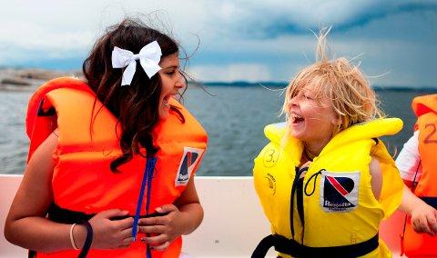FRITID: Barn fra Vestfold og Telemark var i år på Ferie for Alle på Eidene (bildet). Nå drar det lokale Røde Kors i gang et lignende prosjekt, Feriedager for alle. Første mulighet er 25. og 26. juli.