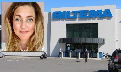 Cecilie Bang blir ny varehussjef på Biltema i Mosjøen.