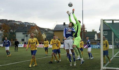 KLAR: Kirkenes IF er klare for sesongstart i 4. divisjon. Debutantene Tana kommer til Kirkenes stadion.