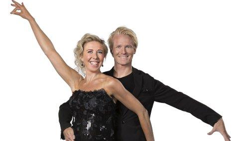 NY SESONG: Kristin Størmer Steira og Fredric Brunberg er ikke favoritter til å vinne den 13. sesongen av «Skal vi danse» på TV 2. Foto: Espen Solli/TV 2