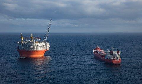 Goliat-feltet ligger 53 kilometer fra Sørøya i Finnmark og er verdens nordligste offshore-oljefelt. Arkivfoto