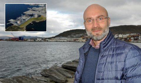 GJENVÆRENDE: –  Vi studerer nå de tre gjenværende lokasjonene, sier Andreas Wulff.