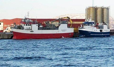 Båten Remøybuen, som Shellsea kjøpte i fjor.