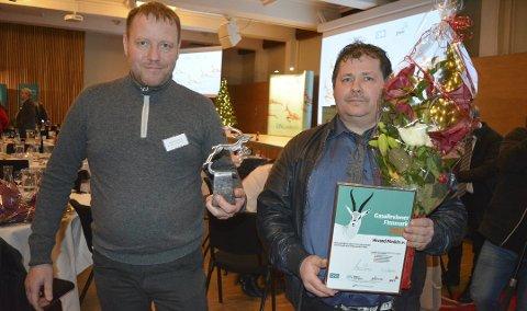 GASELLE: Hivand maskin ble årets gasellebedrift i Finnmark i 2016. Siden gikk det tråere økonomisk. Nå er bedriften til Runar (til venstre) og Boy Robert Hivand konkurs.