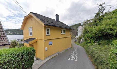 SOLGT: Tallakshavnveien 23 ble solgt for 2.300.000 kroner.
