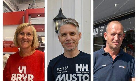 REKORD: Mette Knudsen, Stian Størseth og Bård Kristoffersen forteller alle at de hadde rekordår i fjor.