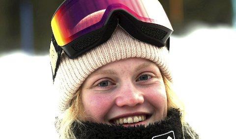 TIL ITALIA: Tina Steffensen skal kjøre World Rookie Tour i Livigno i Italia nå.