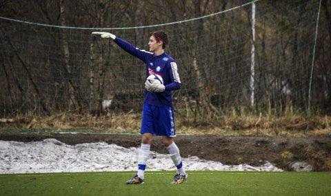 Keeper: Henrik Charlsen fra Svolvær er en av de 11 fra Lofoten som drar til Oulu. ArkivFoto: Roy Charlsen