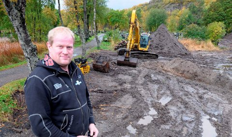 Ørjan magnussens liv: Siden 1984 har Ørjan Magnussen vært med i familiebedriften som har Nordland og Troms som arbeidsområde. Foto: Knut Johansen.