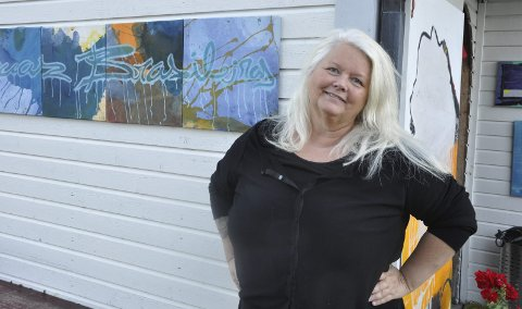 Ny Giv: Liz Rekve ga seg som prosjektleder for Ny Giv i januar, men har i to år jobbet aktivt med å skape aktivitet, arbeidsplasser og tilflytting i Austre Vågan og i Skrova. I Skrova har det blant annet resultert i et gründernettverk. Foto: Arkiv