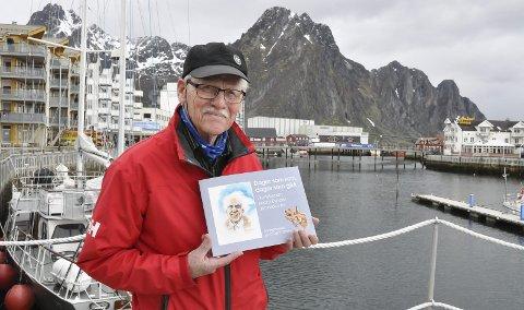 MALT FOR SISTE GANG: Kunstner Dagfinn Bakke gikk bort den 1. januar 2019. Han ble 85 år gammel.