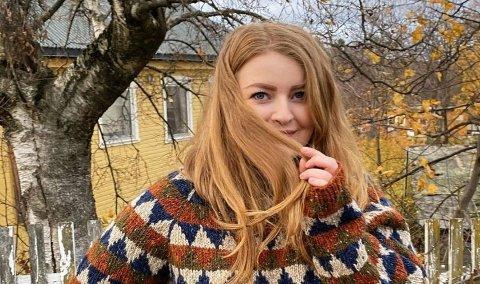 TEST: Margrete Grunnvoll er en av dem som tester nye oppskrifter for designerduoen i Pickles. Denne heter Varmferdagenser og er ennå ikke lansert.