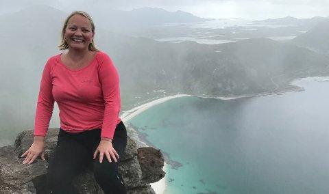 Mona Fagerås fra Leknes er førstekandidat for Nordland SV.