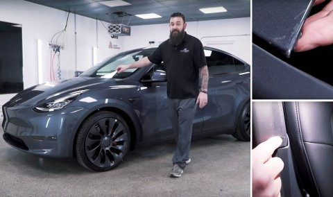 Tesla har startet utleveringene av nye Model Y hjemme i USA. Nå er det oppdaget kvalitetsutfordringer med lakk og interiør på nykommeren.