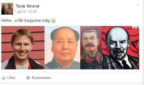 BRÅK: Dette er billedkollasjen som Terje I. Strand postet i facebookgruppen Gamle Tromsø, med et innlegg som fikk administratoren av gruppen til å kaste Strand ut. Kollasjen er nå postet i Nye Gamle Tromsø. Denne gang uten kommentar. (Foto:Skjermdump)