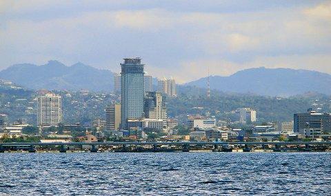 PÅGREPET: Mannen er pågrepet i den filippinske byen Cebu, hovedstaden i provinsen med samme navn.